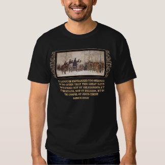 America was Founded on the Gospel of Jesus Christ Tshirt
