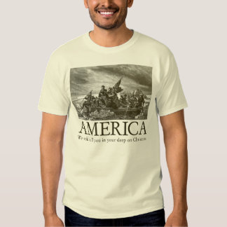 America: We will kill you in your sleep on Christm Tee Shirt