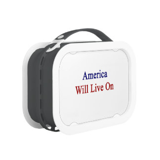 America Will Live On Replacement Plate