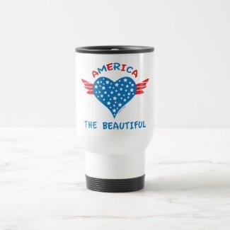 America the Beautiful Travel Mug