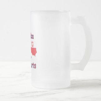 America With Polish Parts Mug