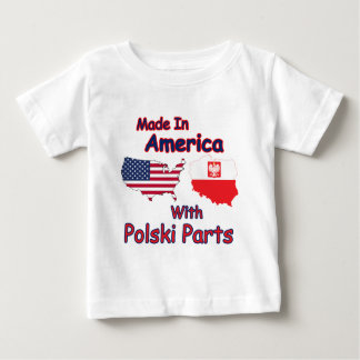 America With Polski Parts Tee Shirt