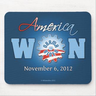 America Won On Nov. 6, 2012 Mouse Pads