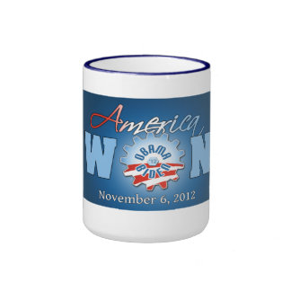 America Won On Nov. 6, 2012 Ringer Mug