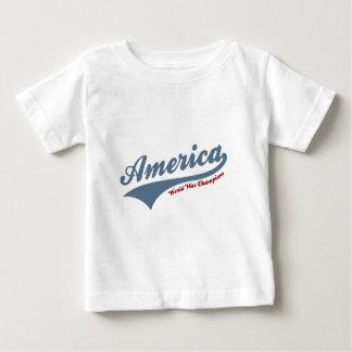 America world war champions baby T-Shirt