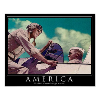 """America - wouldn't it be Swell...  16 x 20"""" Poster"""