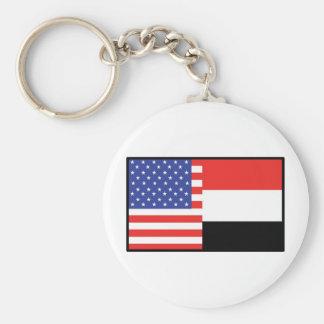 America Yemen Key Chains