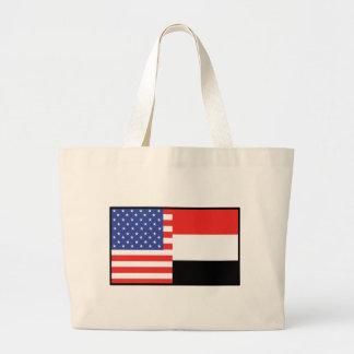 America Yemen Tote Bag