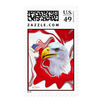 AmericaIsOneNationUnderGod2 Postage Stamps