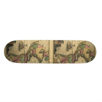 Americam utramque - North & South America Map Skateboard