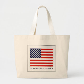 american%20flag large tote bag