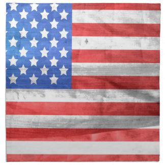 american-83-flag cloth napkin