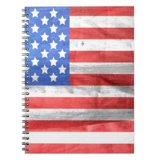 american-83-flag libreta espiral