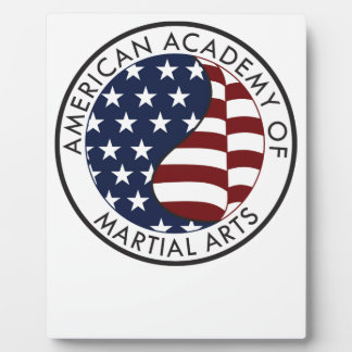American Academy of Martial Arts collectible stuff Photo Plaques