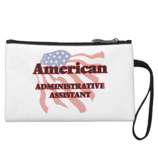 American Administrative Assistant Wristlet Clutches