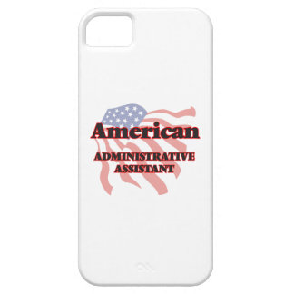 American Administrative Assistant iPhone 5 Case