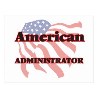 American Administrator Postcard