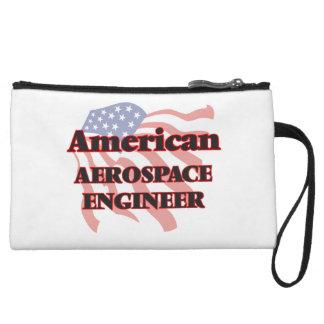 American Aerospace Engineer Wristlet Clutch