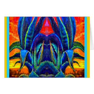 American Agave Desert Gifts by Sharles Greeting Card
