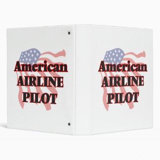 American Airline Pilot 3 Ring Binders