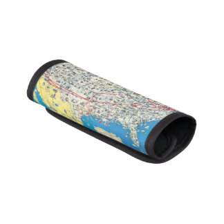 American Airlines system map Luggage Handle Wrap