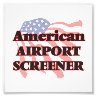American Airport Screener Photo Print