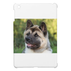 American Akita Dog iPad Mini Covers