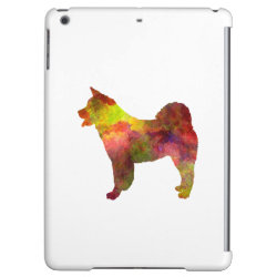 American Akita in watercolor iPad Air Cases
