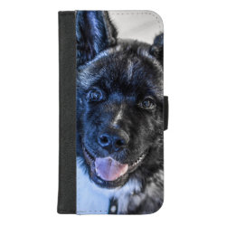 iPhone 8/7 Plus Wallet Case with Akita Phone Cases design