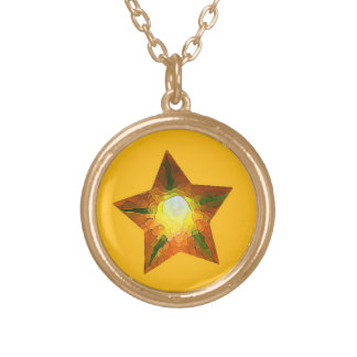 American All Stars - Austin, TX Gold Plated Necklace