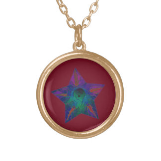 American All Stars - Cheyenne Gold Plated Necklace