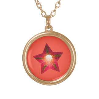 American All Stars - Dallas Gold Plated Necklace