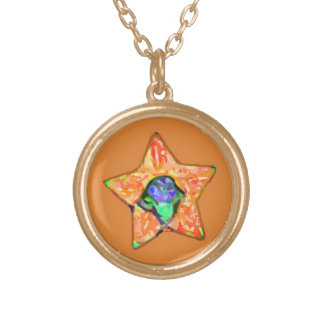 American All Stars - Phoenix Gold Plated Necklace