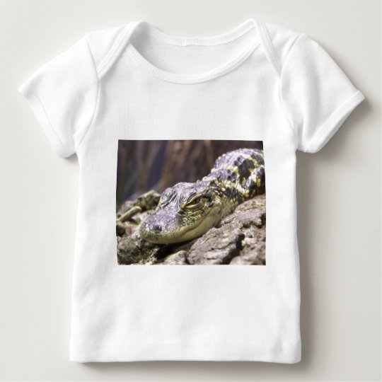 American Alligator Close Up Face Portrait Baby T-Shirt