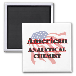 American Analytical Chemist 2 Inch Square Magnet