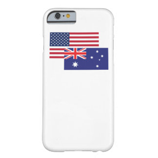 American And Australian Flag Barely There iPhone 6 Case