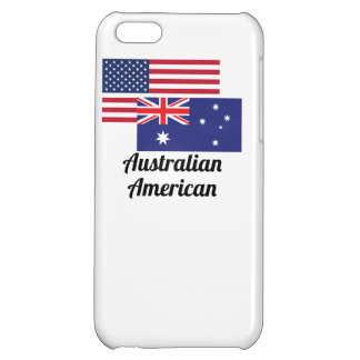 American And Australian Flag Case For iPhone 5C