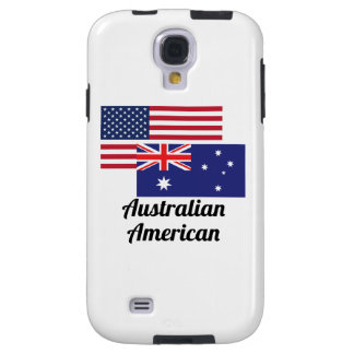 American And Australian Flag Galaxy S4 Case