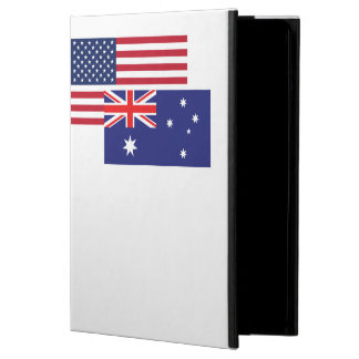 American And Australian Flag iPad Air Cover