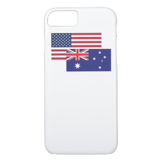 American And Australian Flag iPhone 8/7 Case