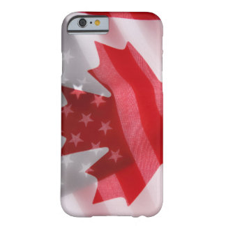 American and Canadian flags Barely There iPhone 6 Case