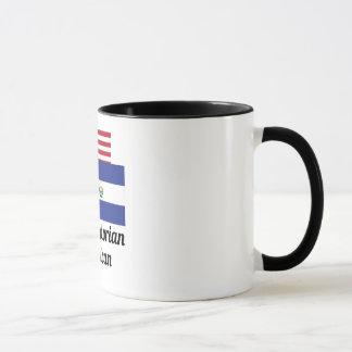 American And El Salvadorian Flag Mug