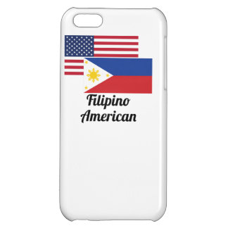 American And Filipino Flag Cover For iPhone 5C