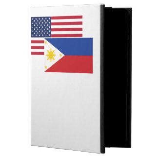 American And Filipino Flag iPad Air Cover