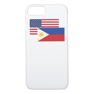 American And Filipino Flag iPhone 8/7 Case