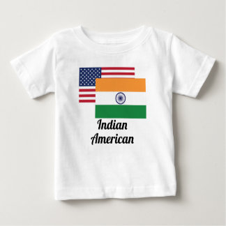 American And Indian Flag Infant T-shirt
