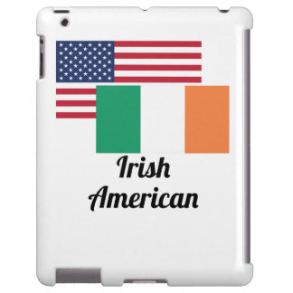 American And Irish Flag