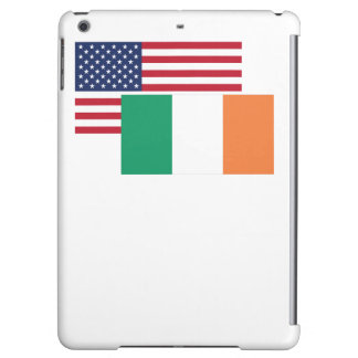 American And Irish Flag Cover For iPad Air