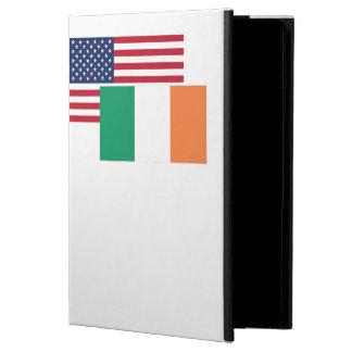 American And Irish Flag iPad Air Cases