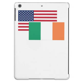 American And Irish Flag iPad Air Cover